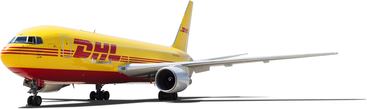 DHL Airplane